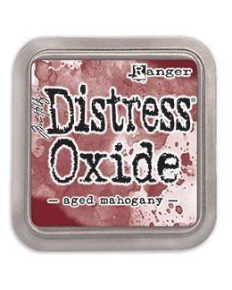 Ranger Distress Oxide Ink Pad - Aged Mahogany