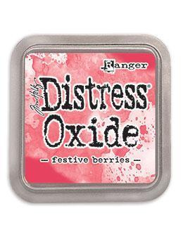 Ranger Distress Oxide Ink Pad - Festive Berries