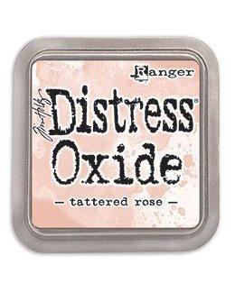 Ranger Distress Oxide Ink Pad - Tattered Rose